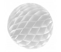 Шар бумажный белый (20 см)