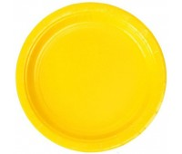 Тарелки желтые (8 шт.)