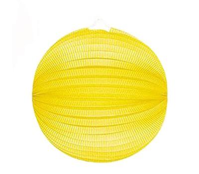 Шар-аккордеон желтый (25 см)