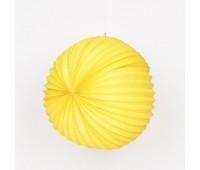 Шар-аккордеон желтый (22 см)