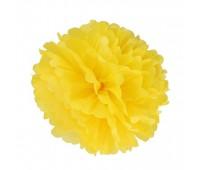 Помпон ярко-желтый (20 см)