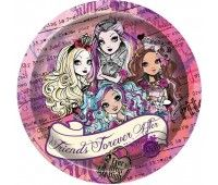Тарелки Ever After High (10 шт.)