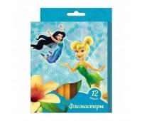 Фломастеры «Феи Disney» (12 цветов)
