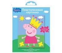 Пластилиновая картинка «Свинка Пеппа» (Peppa Pig)