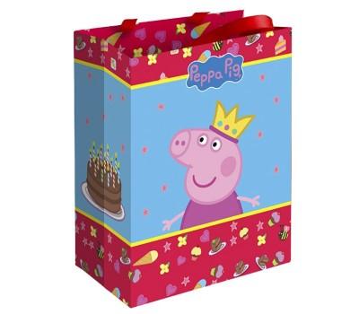 Пакет «Свинка Пеппа Принцесса» (Peppa Pig), 23х18х10 см