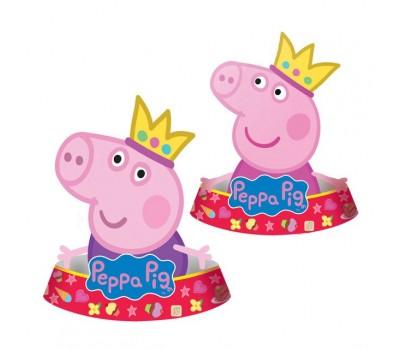 Колпачок фигурный «Свинка Пеппа-принцесса» (6 шт.)