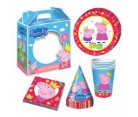 Набор для праздника «Свинка Пеппа», 24 предмета
