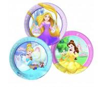Тарелка «Принцессы Disney», 23 см (8 шт.)