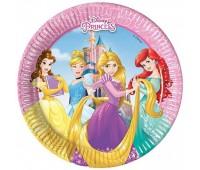 Тарелка «Принцессы Disney», 20 см (8 шт.)