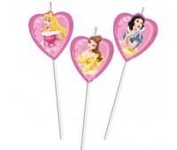 Трубочки «Принцессы Disney» (6 шт.)
