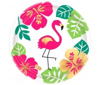 Тарелки Фламинго Aloha (8 шт.)