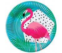 Тарелки Фламинго (6 шт.)