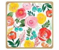 Тарелки Цветочный вальс 25 см (8 шт.)