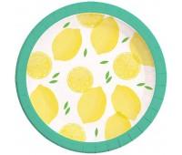 Тарелки Лимоны (8 шт.)