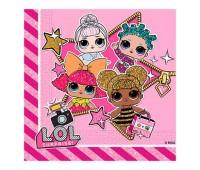 Салфетки Куклы LOL (20 шт.)