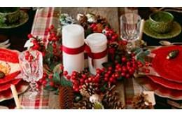 Идеи новогодней сервировки стола