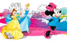 Шаблоны приглашений с героями Disney