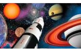 Шаблоны для оформления космической вечеринки