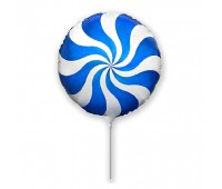 Мини-шар Леденец синий