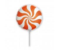 Мини-шар Леденец оранжевый