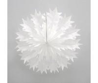 Фант Снежинка белая (45 см)