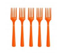 Вилки оранжевые (20 шт.)
