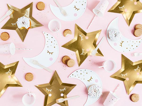 Одноразовая посуда и украшения из коллекции Little Star
