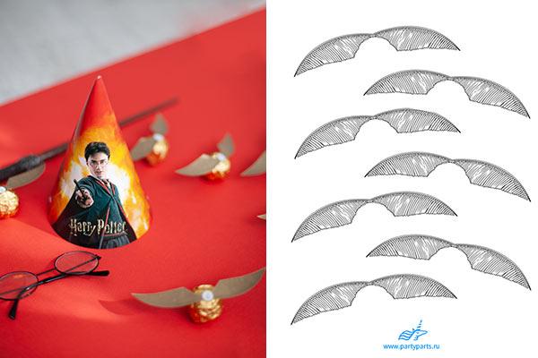 Идеи оформления и декора праздника Гарри Поттера