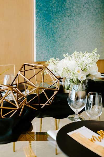 Красивое оформление праздничного стола