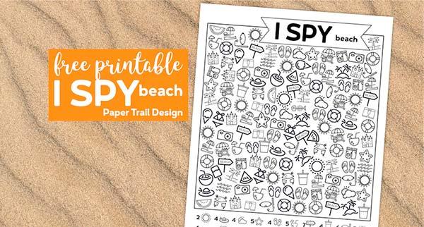Скачать бесплатно шаблон игру-раскраску Пляж