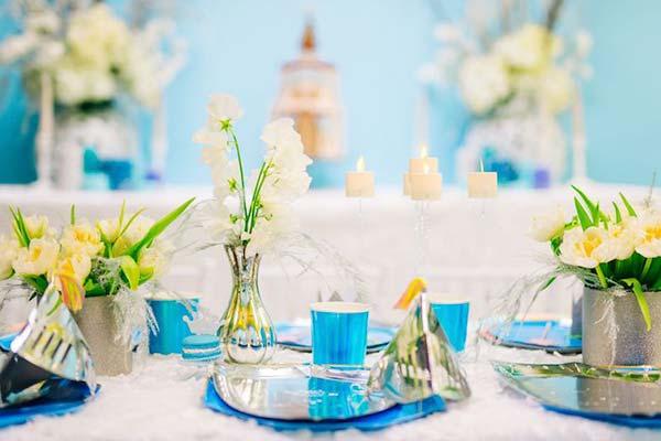 Праздничная посуда для вечеринки Frozen