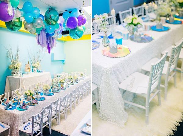 Праздничный стол для вечеринки Frozen
