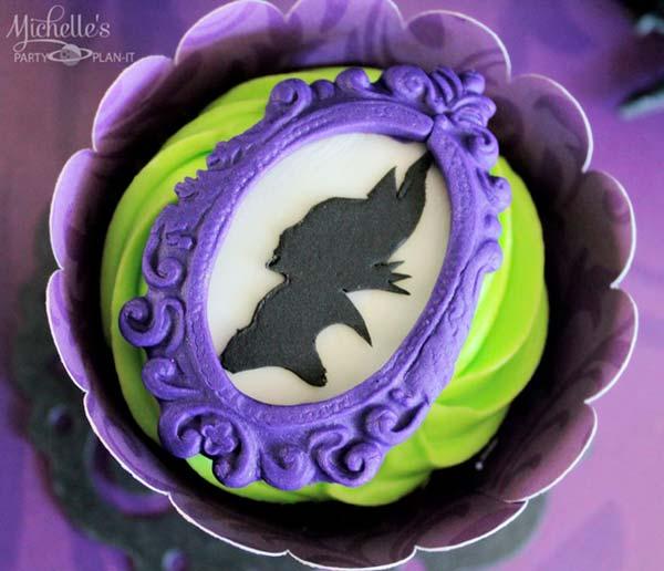 Печенье для праздника Малефисента