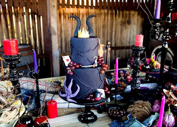 Как оформить день рождения в стиле Малефисента
