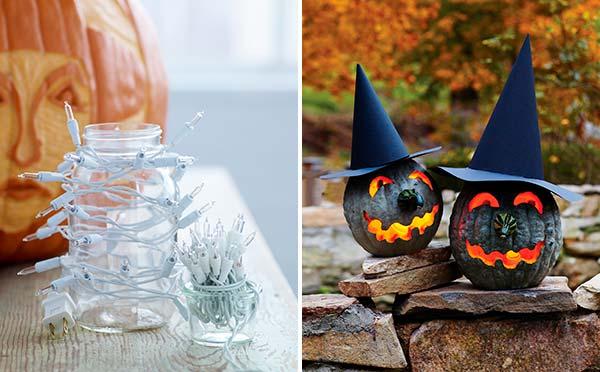Как сделать подсветку для тыквы на Хэллоуин