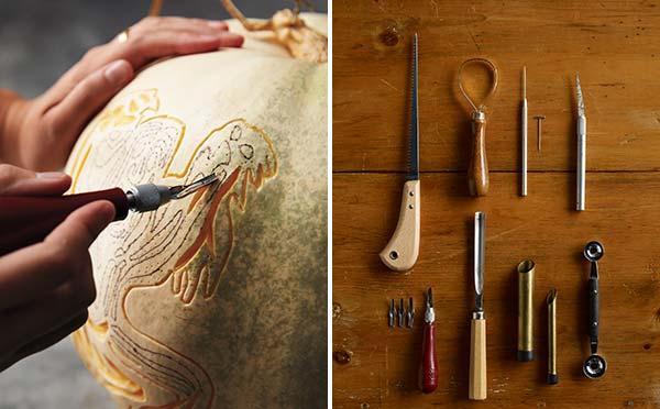 Инструменты, которые пригодятся вам для того, чтобы вырезать тыкву на Halloween