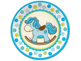 Лошадка голубая