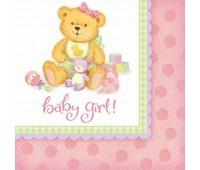 Салфетка Baby Girl (16 шт.)