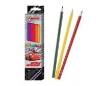 Цветные карандаши «Disney Тачки» (6 шт.)