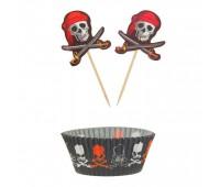 Формы и пики для кексов «Пират»