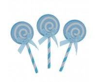 Пики «Карамелька» голубые