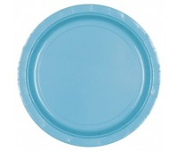Тарелка голубая (8 шт.)