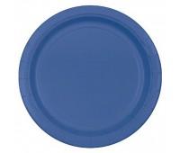 Тарелка синяя (8 шт.)