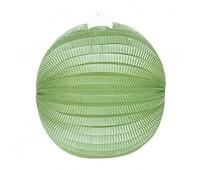 Шар-аккордеон зеленый (25 см)