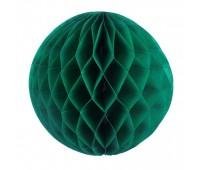 Шар бумажный зеленый (20 см)