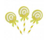 Пики «Карамелька» желтые