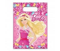 Пакеты подарочные «Барби» (6 шт.)