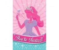 Приглашение Принцессы (8 шт.)