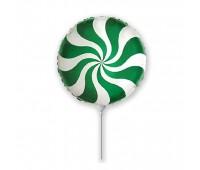 Мини-шар Леденец зеленый